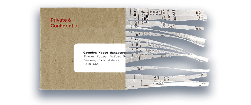 Grundon - Confidential Waste