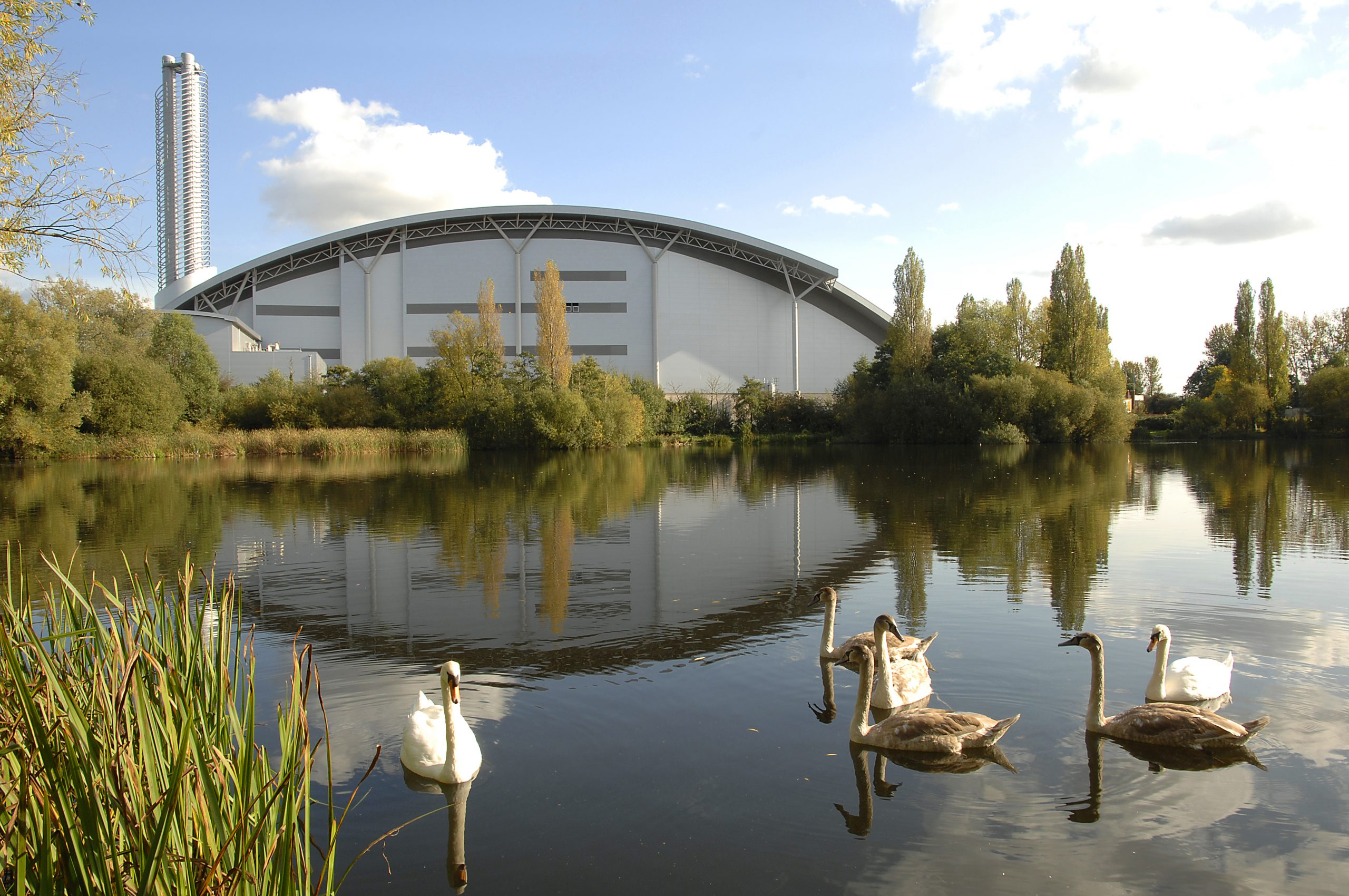 The Lakeside Energy from Waste facility in Colnbrook, near Slough.