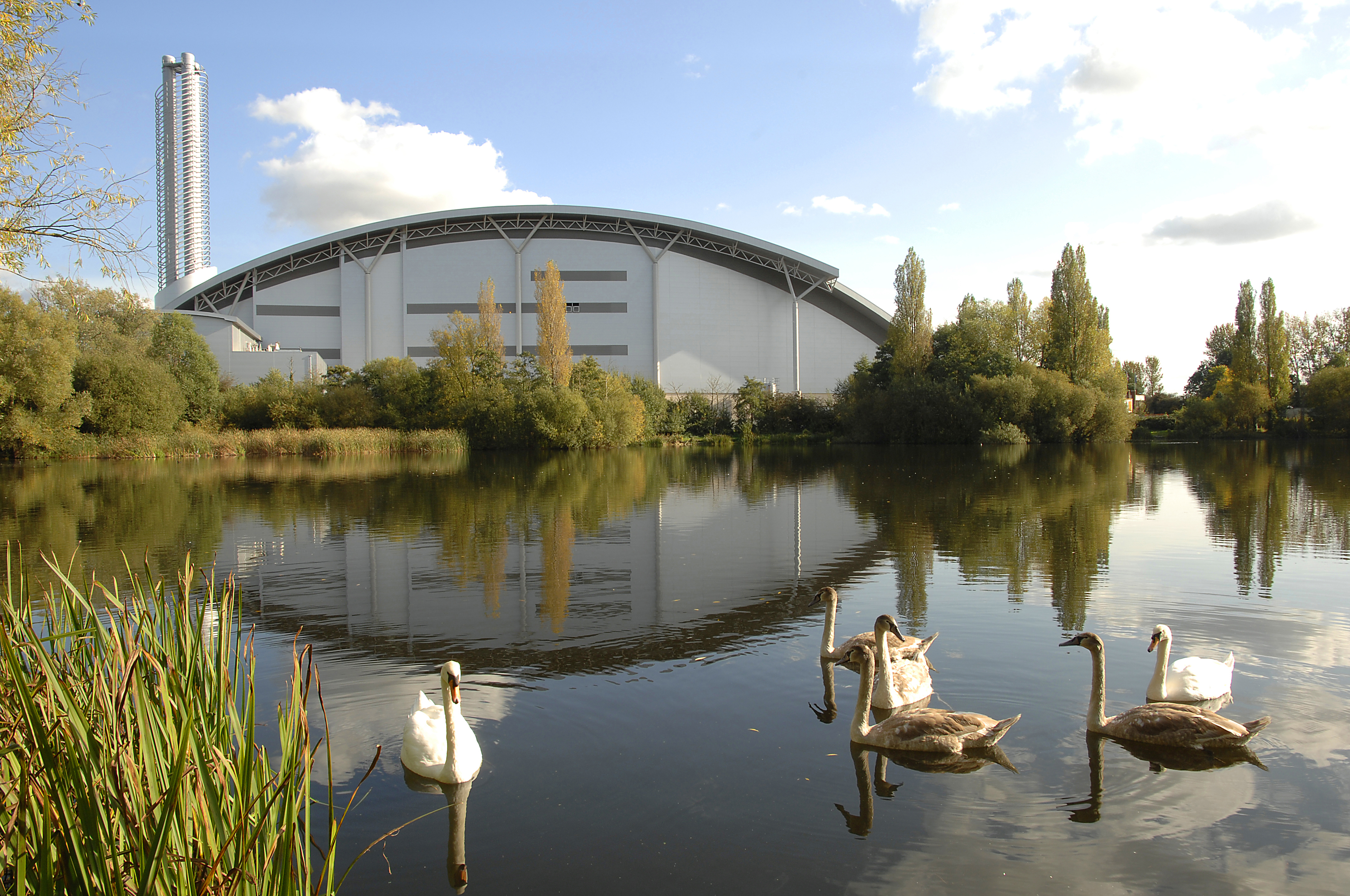 The Lakeside Energy from Waste facility in Colnbrook, Berkshire