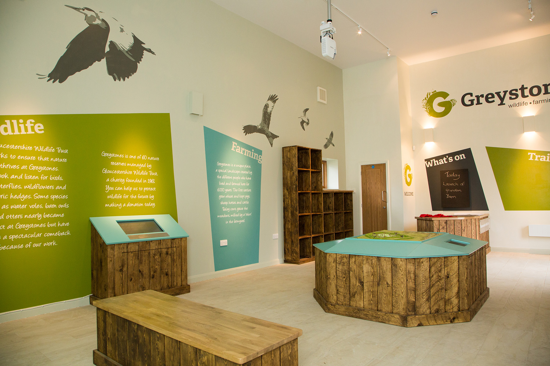 The ancient barn at Greystones Farm has been restored and equipped with a digital wildlife quiz, an interactive map and numerous traditional activities for visitors to enjoy.