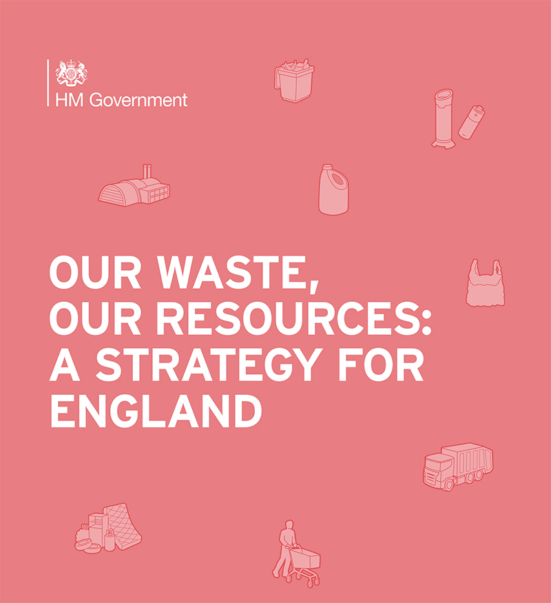 The Government's Resources and Waste Strategy sets out how the country needs to preserve our increasingly precious stock of material resources by minimising waste, promoting resource efficiency and moving towards a circular economy.