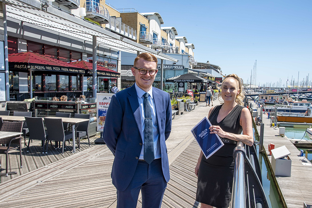 Grundon's dedicated contract manager, Andy Piasko, has been working closely with Brighton Marina general manager, Kirsty Pollard to help deliver the improvements