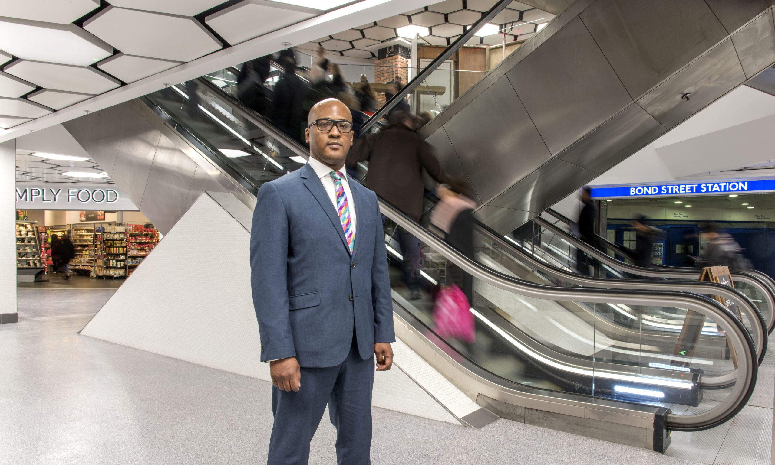 Cyrus Annan, Centre Manager, and his team have been leading the way with a raft of ideas and projects to encourage shoppers, retailers and office staff to think carefully about what they throw away and where it goes