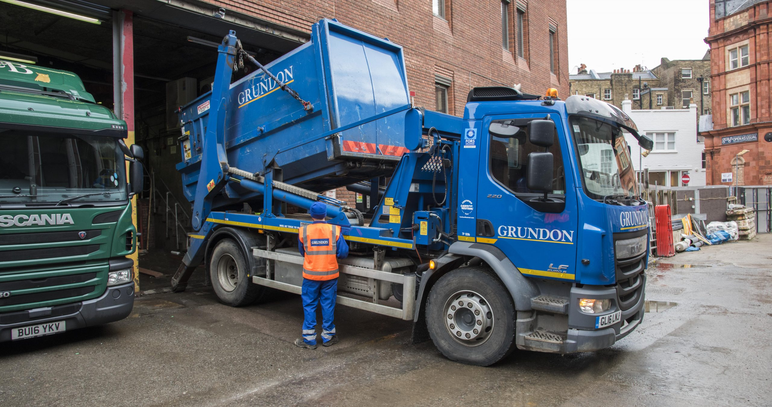 The fact that Grundon's vehicle collection fleet is certified CarbonNeutral®, means waste collections do not add to customers' carbon footprint, which in turn has helped West One to reduce its carbon emissions.