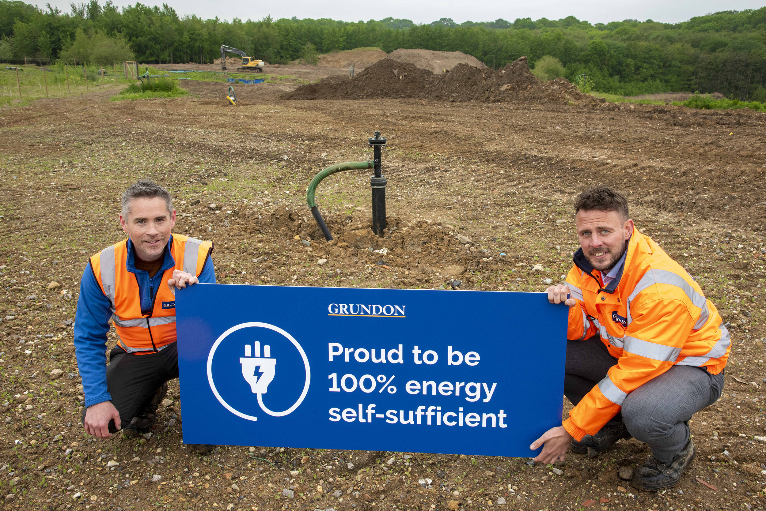 Grundon's clinical waste operations, based at its Knowl Hill site in Berkshire, will now be generating around 350kW of renewable energy from its adjacent former landfill site via a gas engine. The engine will provide the entire site with renewable energy with at least a third of the output being sent to the National Grid.