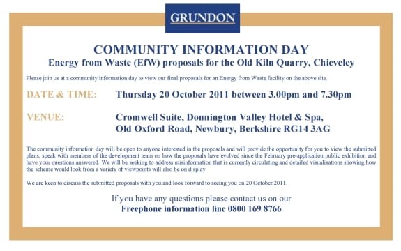 Chieveley Community Information Day