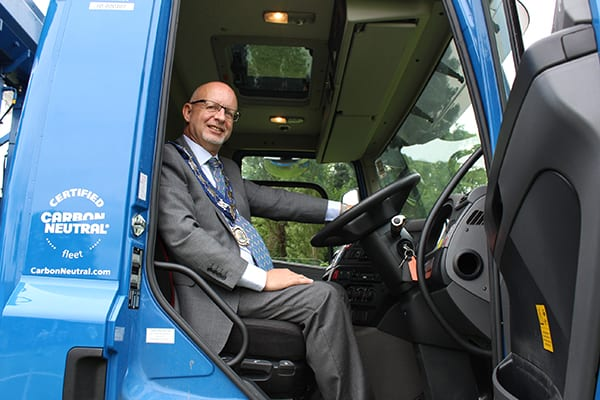 Councillor Paul Harrison, chairman of South Oxfordshire District Council, sees a drivers eye view.