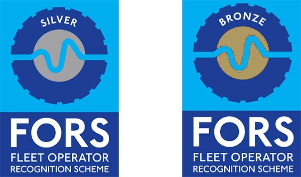 FORS Silver and Bronze accreditations