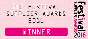 The Festival Supplier Awards 2016 Winner