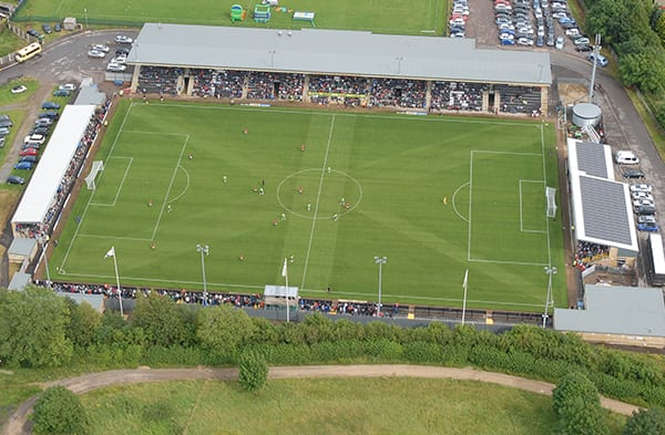 The New Lawn, home to Forest Green Rovers