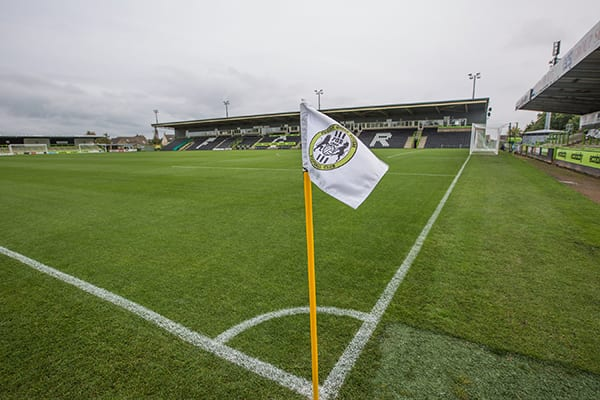 Forest Green Rovers New Lawn Stadium is serviced by Grundon Waste Management