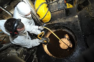 Grundon Industrial Cleaning Services, confined space cleaning