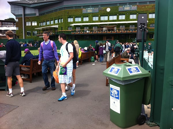 Grundon managing the waste for the All England Lawn Tennis Club