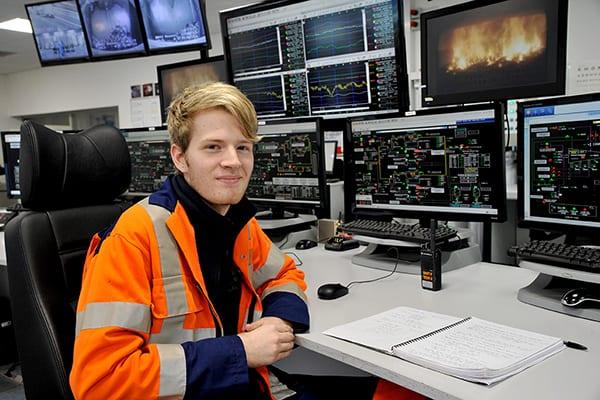 New apprentice Mitch Redworth