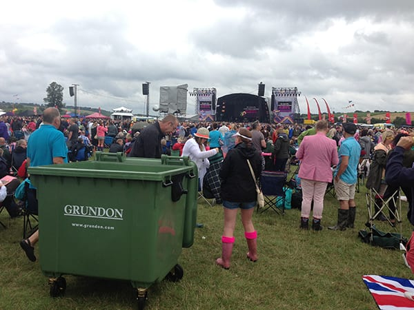 Rewind Festival is serviced by Grundon's Special Events Services Team